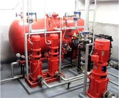 DLC气体顶压应急消防气压给水设备